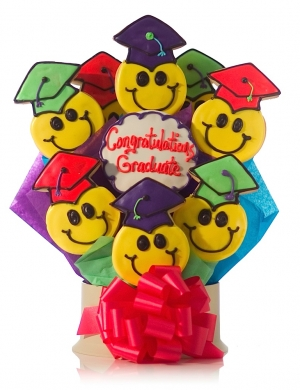 Congrats Grad Cookie Bouquet