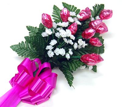 La Bella Pink Rose Chocolate Bouquet