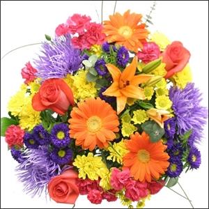 Delightfully Yours Flower Arrangement