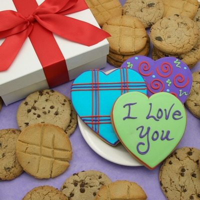 Valentines Crazy For You Cookies