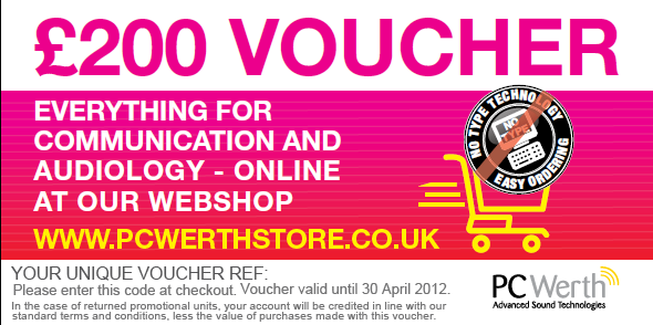 £200 Webshop voucher
