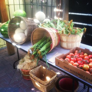 vegetable stand now open