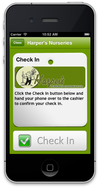 check in phone app