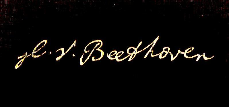 Beethoven Signature
