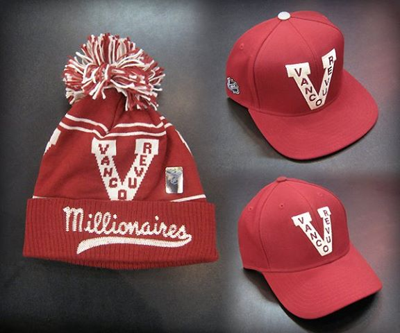 Vancouver Millionaires head gear  15.99 -  31.99. Limited stock - shop  early! ddce25f54