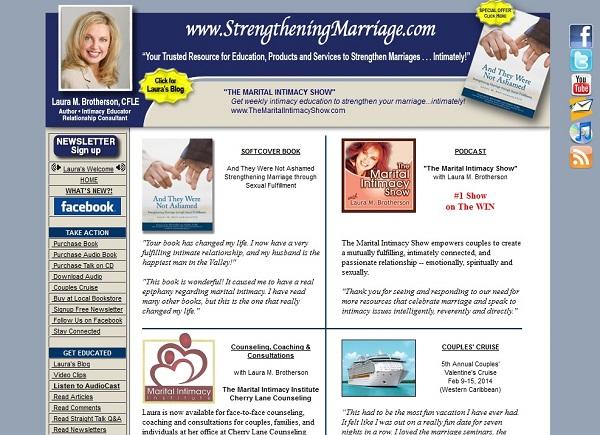 Old StrengtheningMarriage.com site
