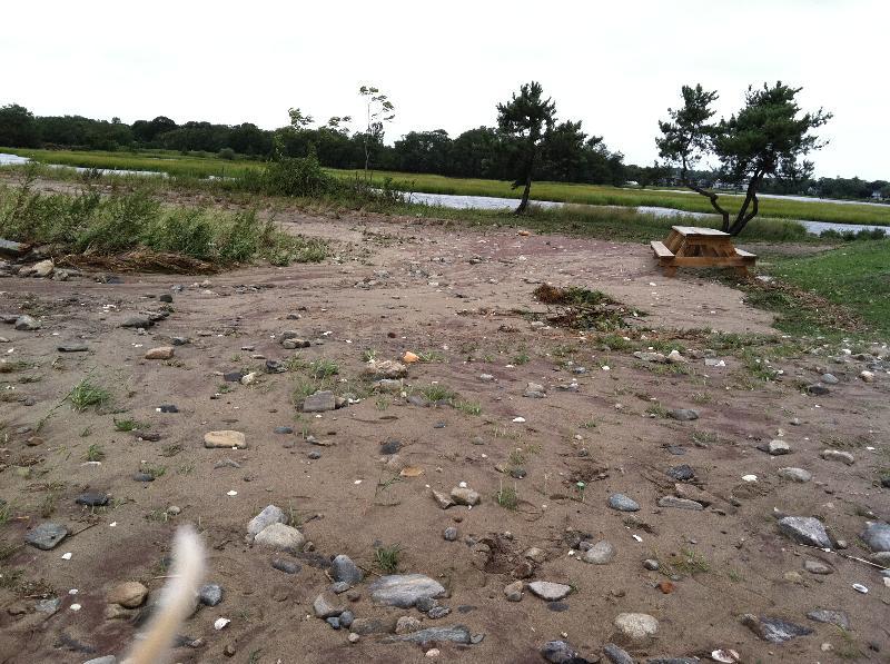 Hurricane Irene Sand Spit Channel
