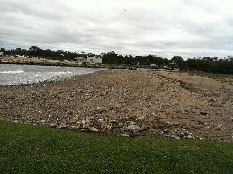 Hurricane Irene Sand Spit 1
