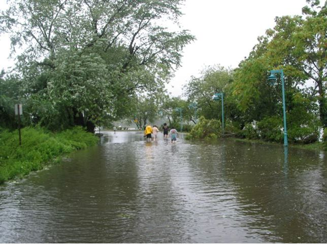 Hurricane Irene Gilman Flooding