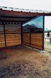 Livestock wind block