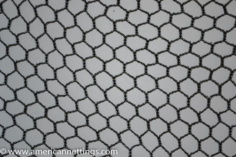 black multi row netting