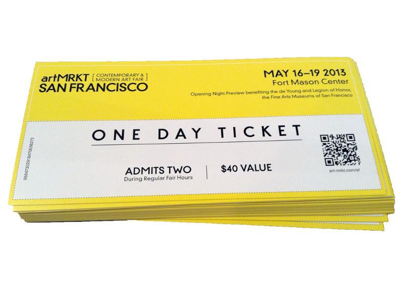 artMRKT Tickets 2013