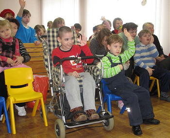 "Children at ""Revival"" Centre"