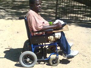 Wheelchair for Zimbabwe