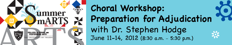 Summer Smarts Choral Workshop - Preparation for Adjudication