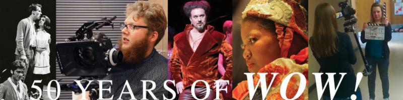 The University of Toledo Department of Theatre & Film celebrates its 50th anniversary, September 19-21, 2014