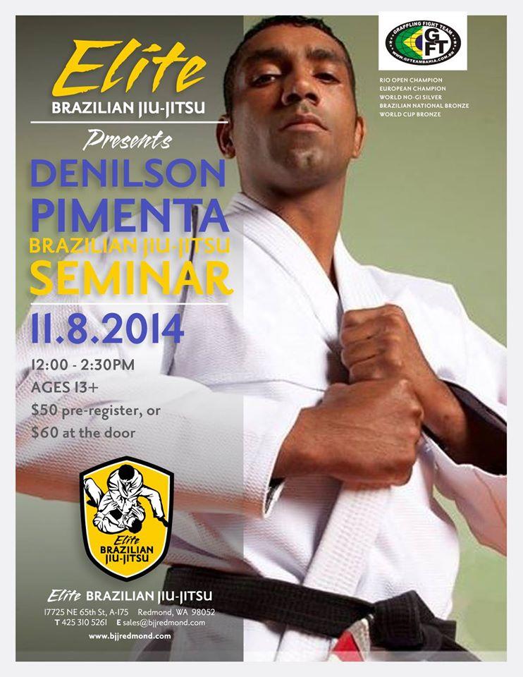 November Newsletter World Champion Denilson Pimenta BJJ