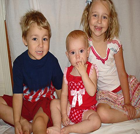 Berkley, Augie and Chloe