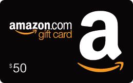 photo of amazon 50 dollar gift card