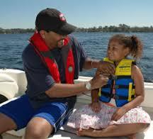 Girl on Boat