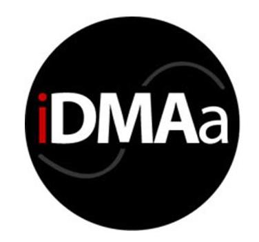 idmaa logo black and red