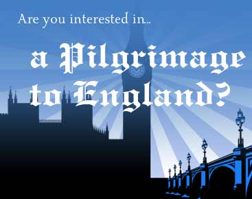 Pilgrammage to England