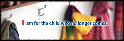 I am for the child banner