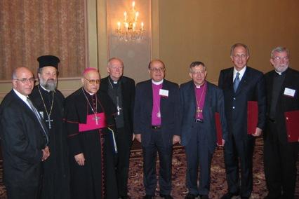 Cardinal McCarrick with Church heads