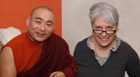 rinpoche & cynthia