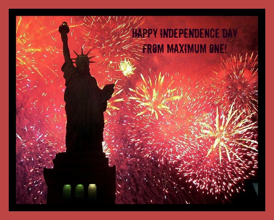 Happy 4th from Maximum One Real Estate