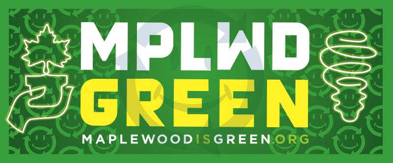 Maplewood is Green Logo detailed