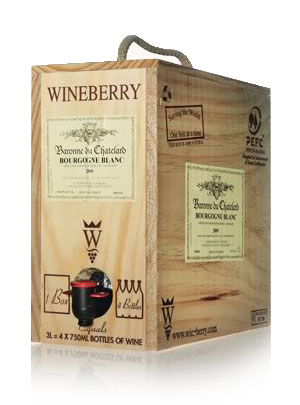 baronne chatelard bourgogne blanc 3L box