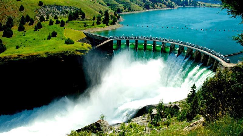 Flathead Lake Dam