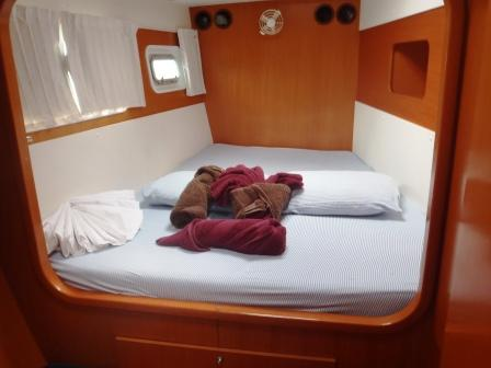 Patron Lady forward cabin