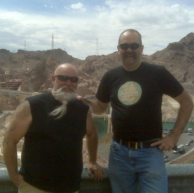 At Hoover Dam photo