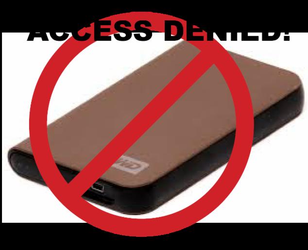 No Hardward Access Image
