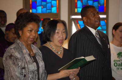 Dr. Ramona Tascoe & Oakland Mayor Jean Quan