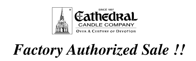 Cathedral Brand Candles ON SALE!