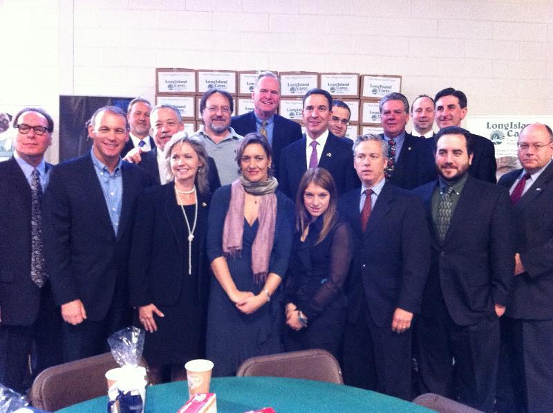 Jen Chapin with Legislators