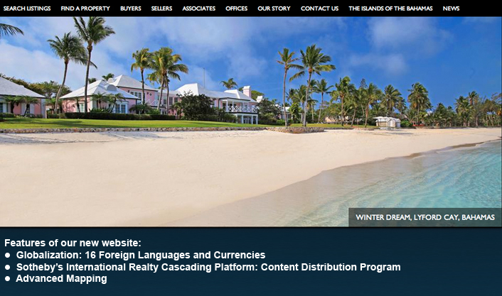 Presenting our new SIRbahamas.com website