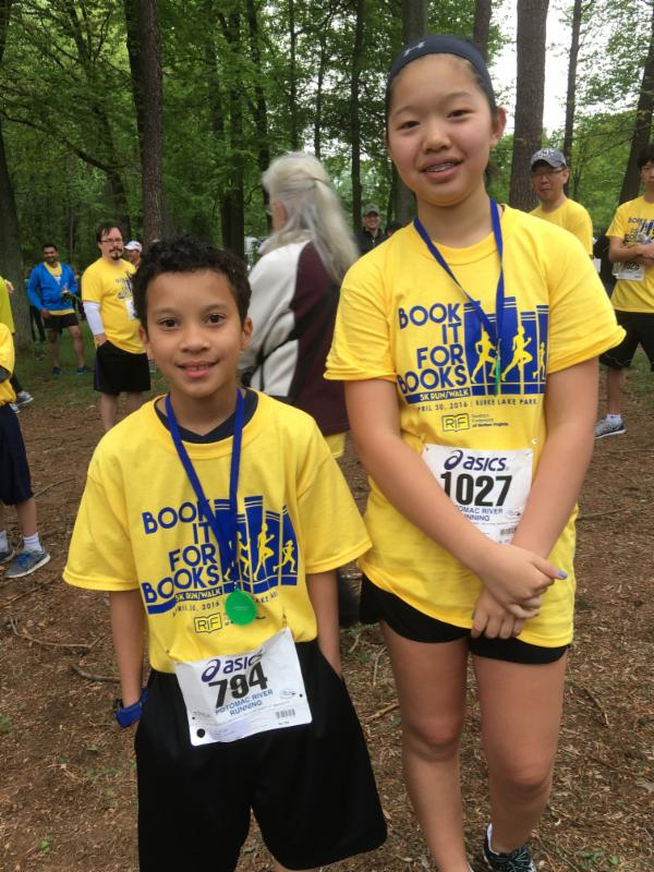 5K boy and girl winner