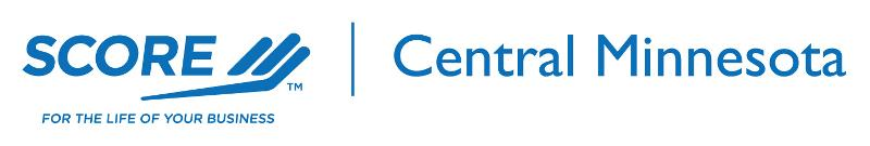 New Central Minnesota SCORE Logo