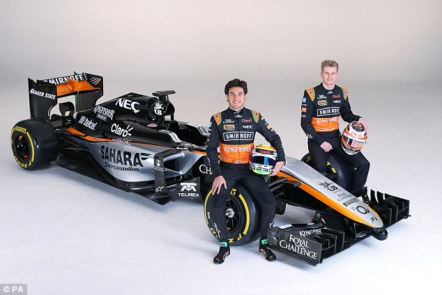 Sergio Perez's Formula One Car