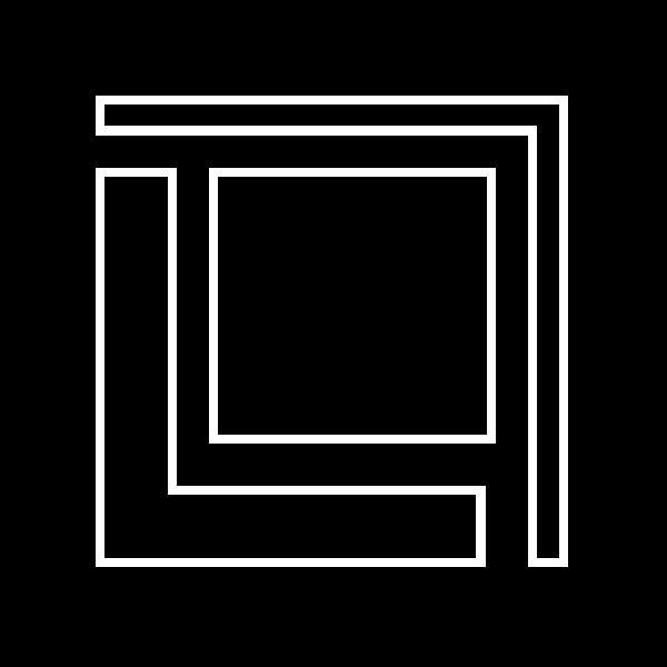Logo in black