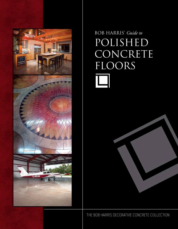 Cover Image from Polished Concrete Guide