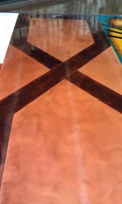 Terra Fresco with Dyes