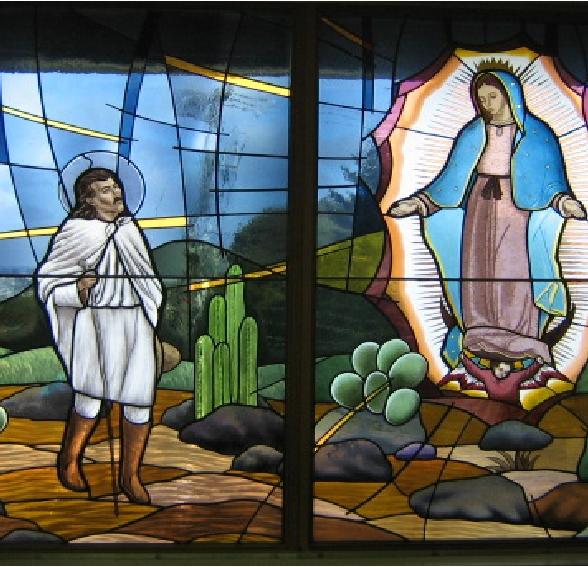 Juan Diego Window Image