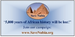 Save Nubia Project banner