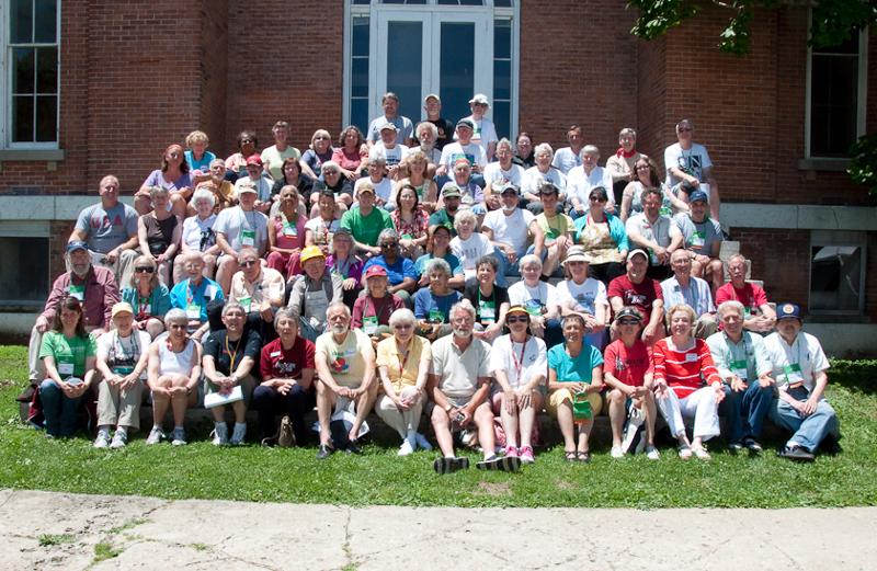 Some of the dedicated members of the Volunteer Work Group from Reunion 2012. Photo by Dennie Eagleson '71.