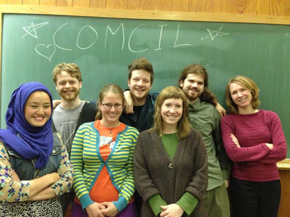 Comcil is back in action this term! Their next meeting is this Tuesday, April 30, to discuss some very important issues brought up last week at Community Meeting.